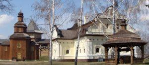 Реконструкція гетьманського двору у Батурині