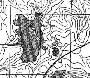 Макіївське городище на карті