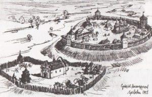 Середньовічні укріплення Суботова