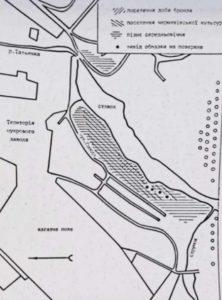 Тальне, карта поселень