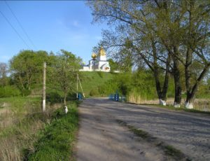 Городище-замок у селі Нехворощ