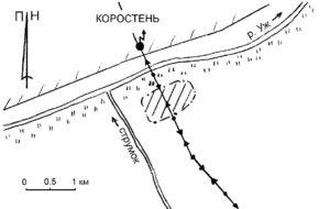 Мезолітичне поселення у Коростені