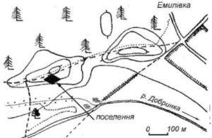 Поселення біля села Нова Борова