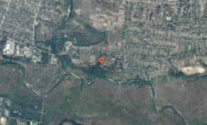 Розташування малинського городища