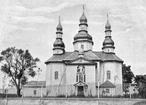Воскресенська церква у Брусилові, 1711 рік