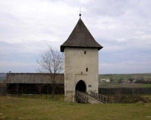 Вид на замчище