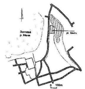 Городище Замок у селі Мени