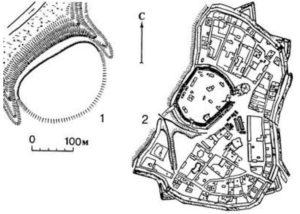 Городище і фортеця у Прилуках