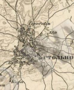 Городище у селі Стольно