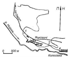 Палеолітична стоянка біля села Яцковичі