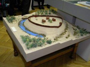 Реконструкція Олевського городища