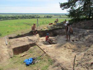 Розкопки у Мізині