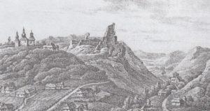 Старе зображення руїн замку