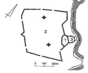 Пізньосередньовічна фортеця у Сосниці