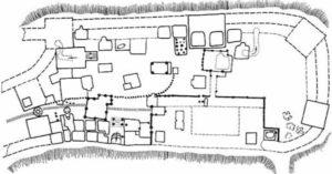 План княжого замку в Любечі
