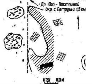 Поселення Петруші 1 в урочищі Козарки