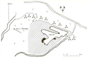 Поселення Вереміїв Ров у селі Льгів