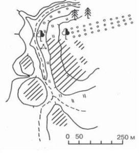 Поселення між селами Новий Білоус і Льгівка