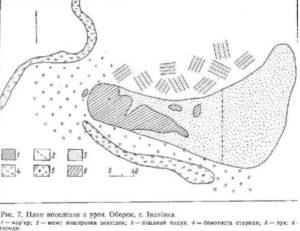 Поселення в урочищі Оборок, село Іванівка