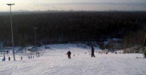 Зимой у Балашихинского городища