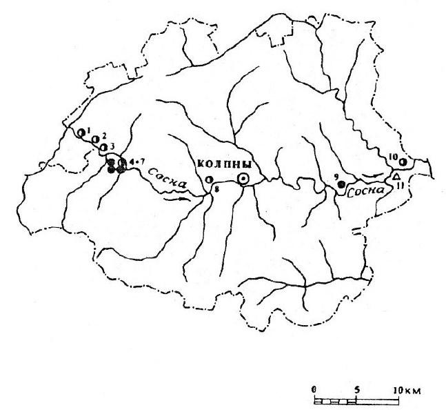 Археология Колпнянского района