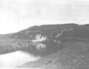 Городище Кураб в деревне Лужки-Пашково