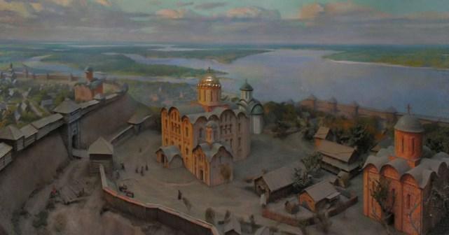 Реконструкция детинца города Кромы