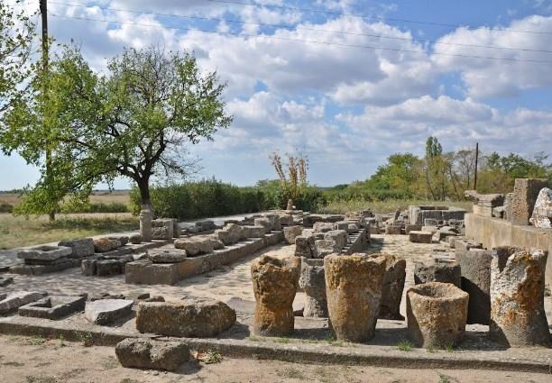 Археологічні розкопки в Ольвії