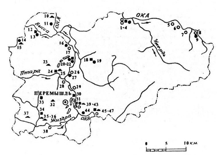 Археология Перемышльского района