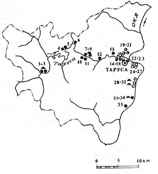 Археология Тарусского района