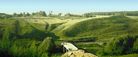 Городище древнего Серенска