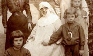 Марцеліна Даровська з дітьми