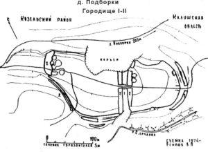 План городища Подборки