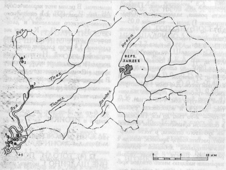 Археология Верхнеландеховского района