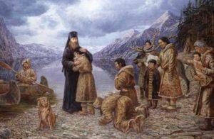 Эскимосы принимают христианство