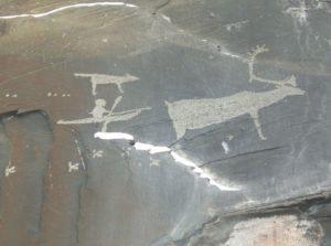 Пегтымель, петроглифы