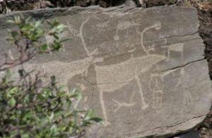 Пегтымельские петроглифы