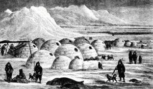 Поселение эскимосов