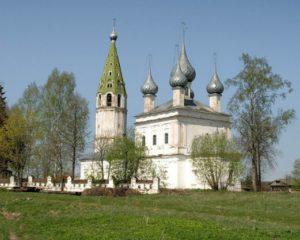 Казанская церковь в селе Кощеево