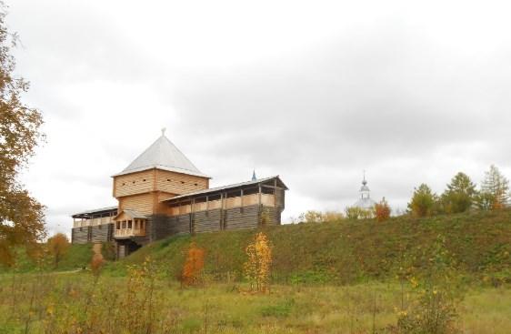 Лухский кремль