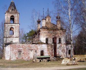 Предтеченская церковь в селе Маслово