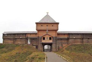 Реконструкция укреплений города Лух