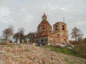 Спасская церковь в Ивашево