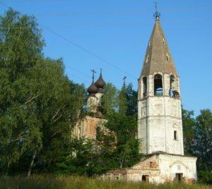 Церковь Вознесения в селе Лукино