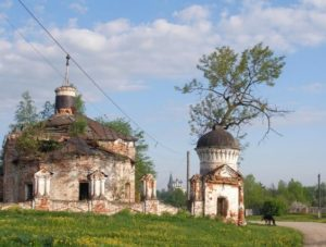 Всехсвятская церковь в Дунилово