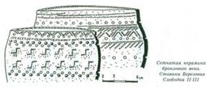 Керамика ранней сетчатой культуры