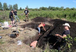 Раскопки неолитической стоянки Сахтыш 2 в Тейковском районе