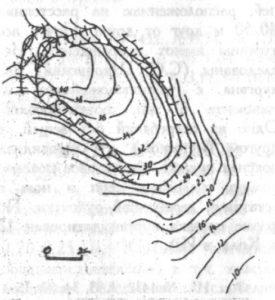 План городища у деревни Рязань