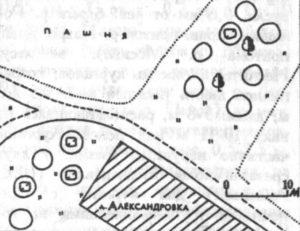 Курганный могильник у деревни Александровка