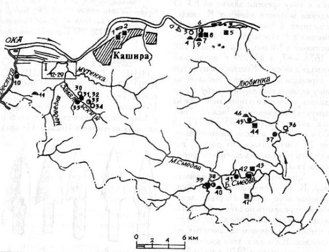 Археология Каширского района